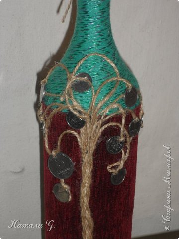 Декор бутылок (разные)-9 фото 2
