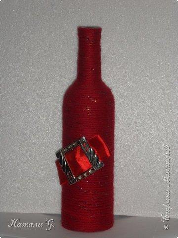 Декор бутылок (разные)-9 фото 3