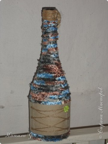 Декор бутылок (разные)-9 фото 4