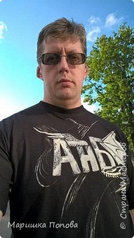 """Логотип рок Группы """"in flames"""" рубашка расписана акриловыми красками по ткани.  фото 3"""