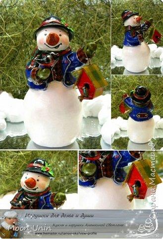 Какое самое любимое и веселое занятие зимой? Правильно! Лепка снеговиков!  фото 8