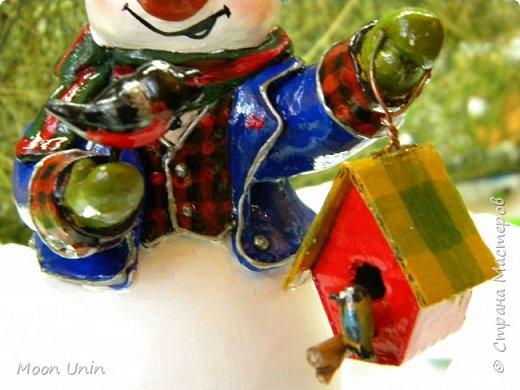 Какое самое любимое и веселое занятие зимой? Правильно! Лепка снеговиков!  фото 6