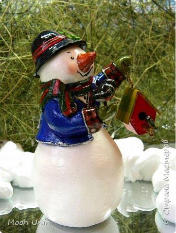 Какое самое любимое и веселое занятие зимой? Правильно! Лепка снеговиков!  фото 2