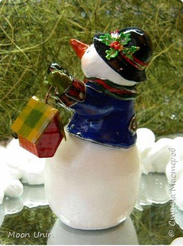 Какое самое любимое и веселое занятие зимой? Правильно! Лепка снеговиков!  фото 4