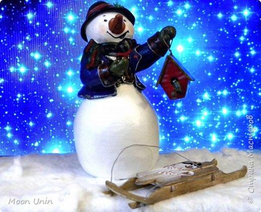 Какое самое любимое и веселое занятие зимой? Правильно! Лепка снеговиков!  фото 7