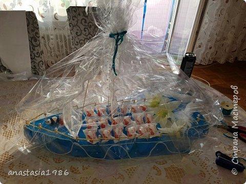 Сделала сестре в подарок на свадьбу.  фото 4