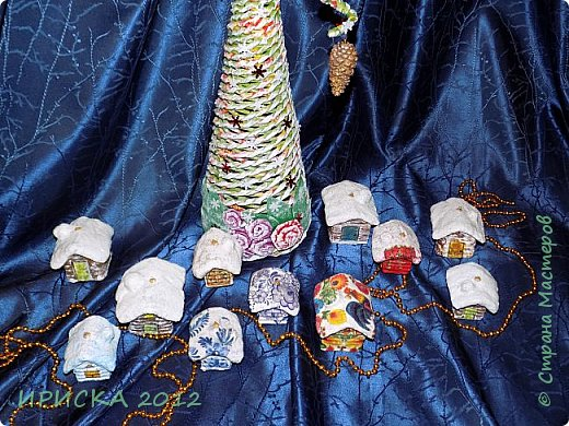 Приветствую всех гостей моей странички!!! Наконец-то я доделала свои первые ватные игрушки. Хочу сразу сказать слова благодарности за вдохновение, мастер-классы и добрые советы мастерам по ватным игрушкам Олечке Симаковой http://stranamasterov.ru/user/390706 , Элайдже http://stranamasterov.ru/user/399311 и Светлане http://stranamasterov.ru/user/68349 , именно благодаря вам я решилась попробовать себя в ватном папье-маше.   фото 2
