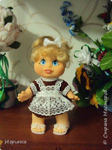 Здравствуйте! Одела я наконец-то своего нового малыша. Беретик, правда, с чужой головы. фото 8