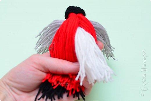 МК птичек в интернете уже много, но покажу свой вариант снегиря с белым брюшком. фото 20