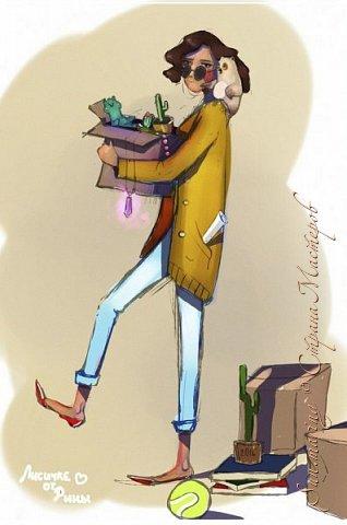 Здравствуй, Страна Мастеров! Недавно я нарисовала вот такую картиночку моей любимой Анютке. Честно, рисовала не долго. (хотела успеть ей отправить эту картинку именно в 0:00 29.11. И я успела, Анюта естественно обрадовалась ну и посмеялась))) Лично мне нравится, я всю душу в этот Арт вложила :в Ну вот... оценивайте) фото 2