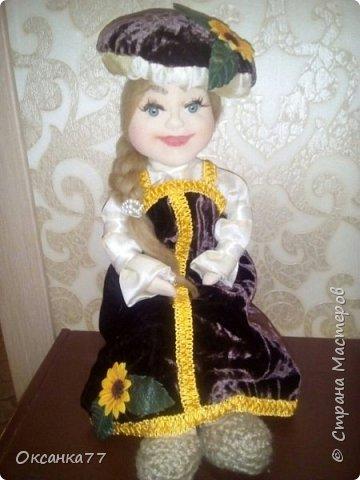 кукла Грибная королева