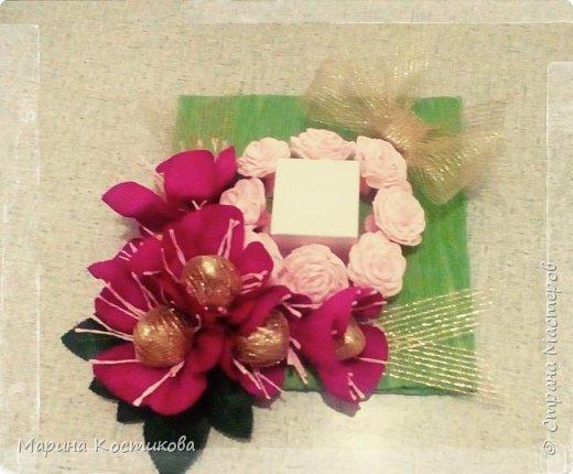 Вот так решили с дочерью поздравить её подругу с днём рождения. В коробочке ювелирное украшение.