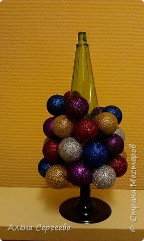 Ёлочка из шариков фото 3