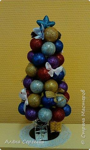 Ёлочка из шариков фото 4