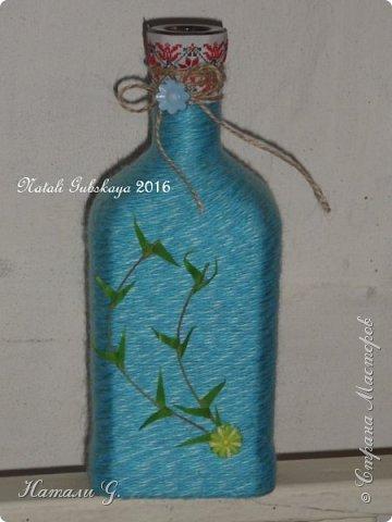 Декор бутылок (разные)-10 фото 6