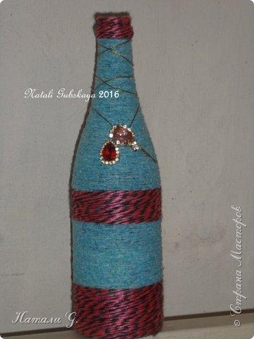 Декор бутылок (разные)-10 фото 5