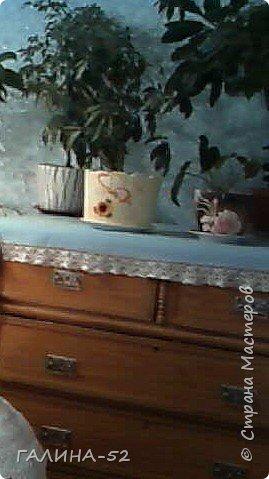 Вот мой шедевр!Использовала традиционно акриловые краски,салфетки и лак. фото 3