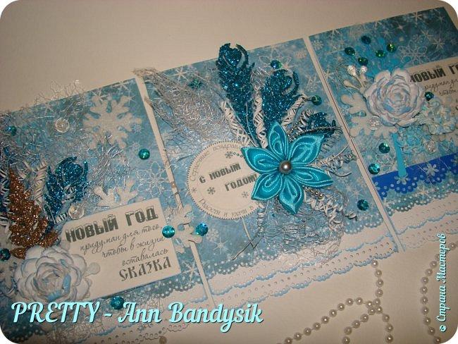 Мои новогодние открыточки! фото 1