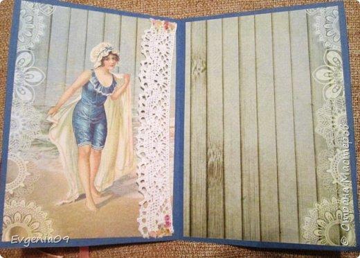 Здравствуйте все, все, все!  У меня сегодня открытка! Делала ее ко дню рождения коллеги,  но использовать можно и на 8-е марта и к какому-нибудь еще событию! фото 4