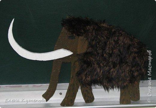 """На день рождения сына я провела праздник для детей """"Охотники на мамонтов"""". Дети были членами племени Вурров (медведей). Голова медведя была тотемом племени. Себе сделала накидку из плюша, пришила куски меха, сделала бусы и меховые браслеты. фото 2"""