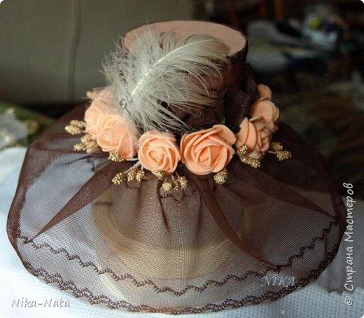 Новогодние вуалетницы  , шляпки фото 5
