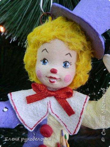 Хочу показать вам свою новенькую девочку Коломбину ( в моём исполнении). Озорная непоседа и отличная художница. фото 3