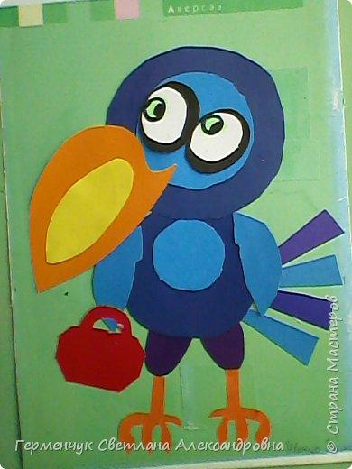 """Работы ребят 4""""В"""" класса на тему """"Зимующие птицы"""".Птицы получились симпатичные и веселые. фото 5"""