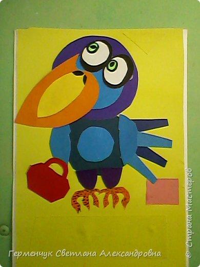 """Работы ребят 4""""В"""" класса на тему """"Зимующие птицы"""".Птицы получились симпатичные и веселые. фото 6"""