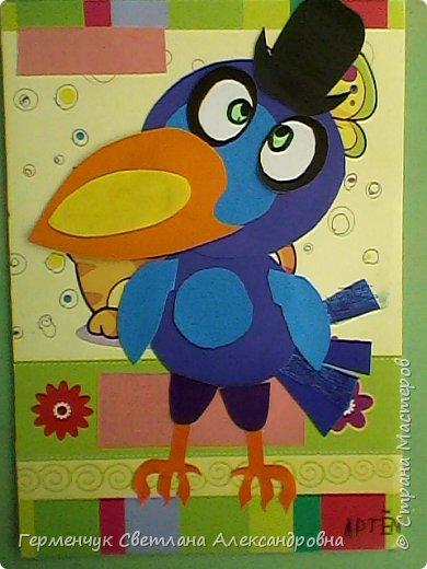 """Работы ребят 4""""В"""" класса на тему """"Зимующие птицы"""".Птицы получились симпатичные и веселые. фото 8"""