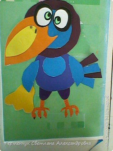 """Работы ребят 4""""В"""" класса на тему """"Зимующие птицы"""".Птицы получились симпатичные и веселые. фото 11"""