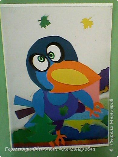 """Работы ребят 4""""В"""" класса на тему """"Зимующие птицы"""".Птицы получились симпатичные и веселые. фото 13"""