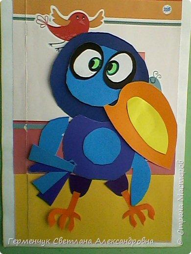 """Работы ребят 4""""В"""" класса на тему """"Зимующие птицы"""".Птицы получились симпатичные и веселые. фото 14"""
