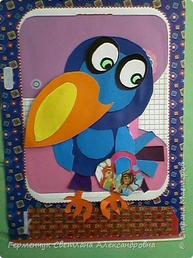"""Работы ребят 4""""В"""" класса на тему """"Зимующие птицы"""".Птицы получились симпатичные и веселые. фото 19"""