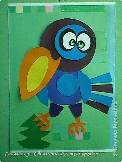 """Работы ребят 4""""В"""" класса на тему """"Зимующие птицы"""".Птицы получились симпатичные и веселые. фото 20"""