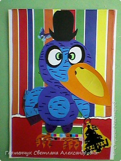 """Работы ребят 4""""В"""" класса на тему """"Зимующие птицы"""".Птицы получились симпатичные и веселые. фото 21"""