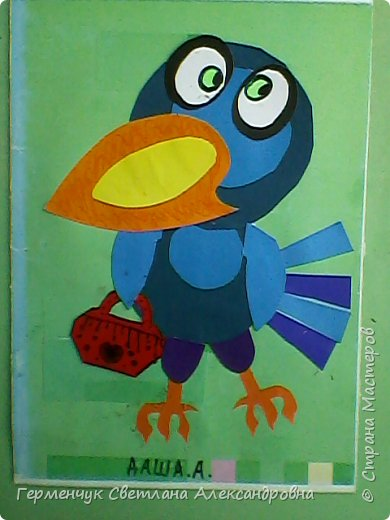 """Работы ребят 4""""В"""" класса на тему """"Зимующие птицы"""".Птицы получились симпатичные и веселые. фото 22"""