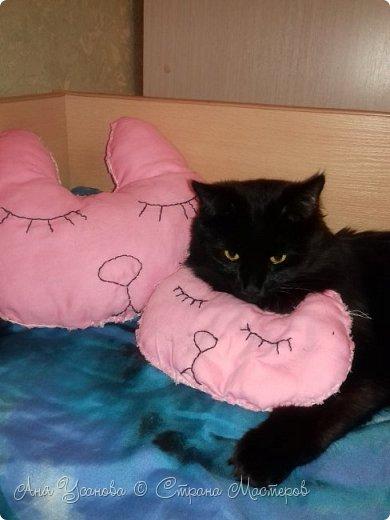 Подушки для себя любимой и любимого кота фото 3