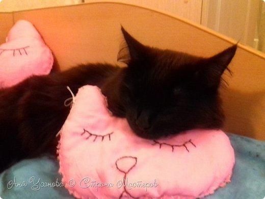 Подушки для себя любимой и любимого кота фото 1