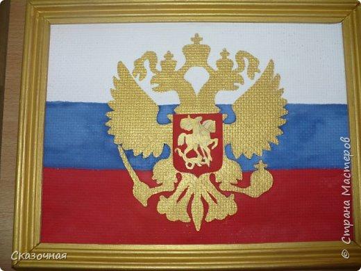 """На конкурс """"Государственные символы России"""" делали с детьми поделки. Спасибо Диме Тарасюк за идею. Мы с Дианой Баклашовой заняли 3 место. фото 2"""