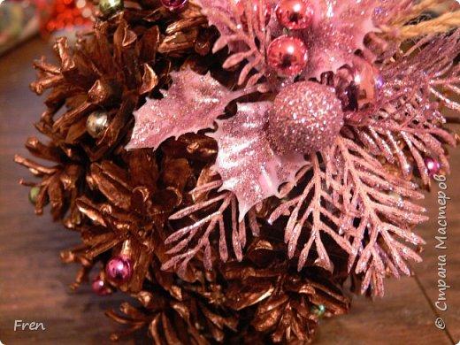 Еще один новогодний шарик и идея по его украшению.  Основной МК: http://stranamasterov.ru/node/1063771.  фото 5