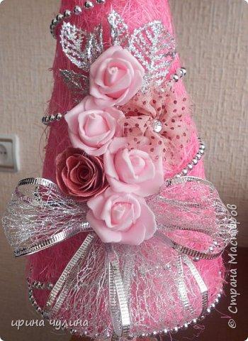 Елка розовая фото 7