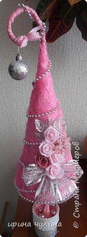Елка розовая фото 8