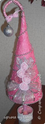 Елка розовая фото 5