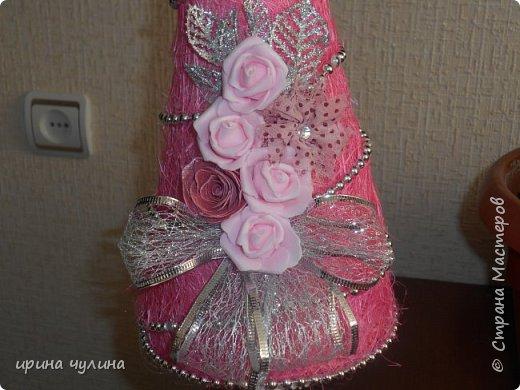 Елка розовая фото 9