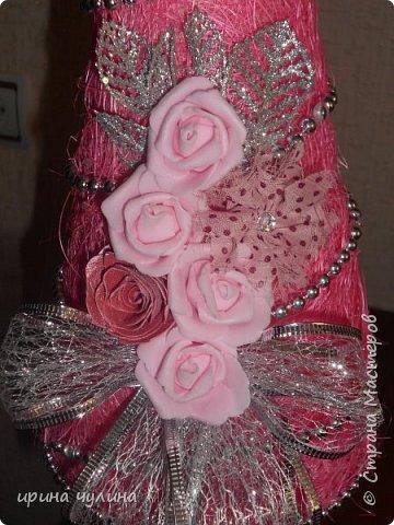 Елка розовая фото 6