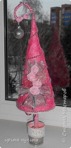 Елка розовая фото 1