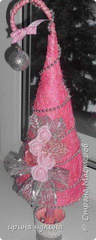 Елка розовая фото 2