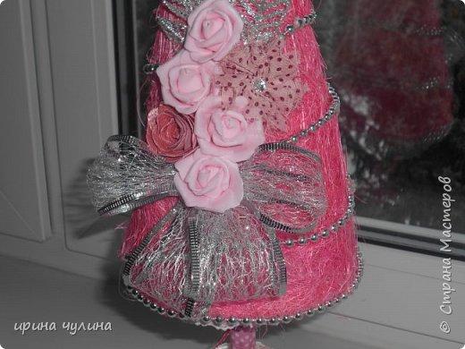 Елка розовая фото 3