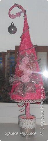 Елка розовая фото 4