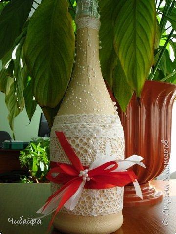 Бутылочка в подарок на свадьбу фото 1